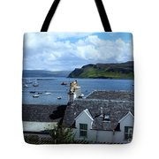 Boats At Portree Tote Bag
