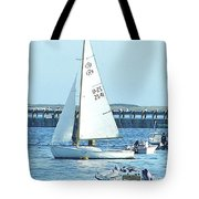 Boats At Provincetown Tote Bag