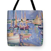 Boats At Royan Tote Bag