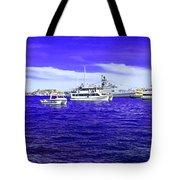 Boats Everywhere 3 Tote Bag