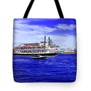 Boats Everywhere During Navy Fleet Review In Sydney Tote Bag