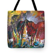 Boats In Calpe 01 Spain Tote Bag