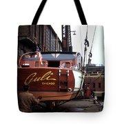 Boats In Harbor - 006 Tote Bag