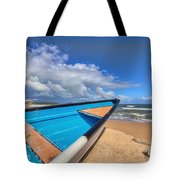 Boats In Mayaro Tote Bag