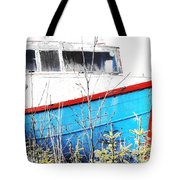 Boats In The Garden Tote Bag