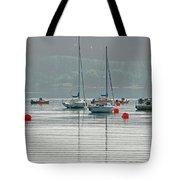 Boats On Carsington Water Tote Bag