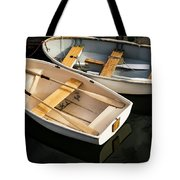 Boats On The Lake Tote Bag
