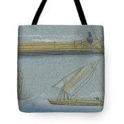 Boats On The Nile Tote Bag