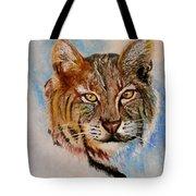 Bob Cat Tote Bag by Jean Ann Curry Hess
