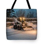 Bob Cat Snow Tote Bag
