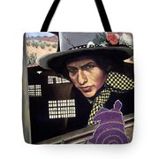 Bob Dylan Surreal Desert Tote Bag