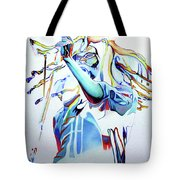 Bob Marley Colorful Tote Bag