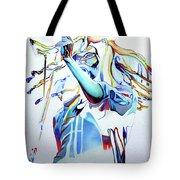 Bob Marley Colorful Tote Bag