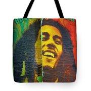 Bob Marley Door At Pickles Usvi Tote Bag