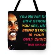 Bob Marley Quote Tote Bag