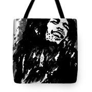 Bob Marley Silhouette   Tote Bag