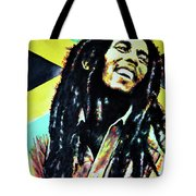 Bob Marley Tote Bag