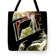 Boba Fett Tote Bag by Paul Ward