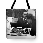 Bobby Fischer (1943-2008) Tote Bag