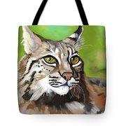 Bobcat Katta Tote Bag