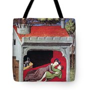Boccaccio: Lovers, C1430 Tote Bag