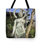 Boddhisattva Buddhist Deity - Kyoto Japan Tote Bag