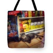 Bodega Cat - At Home In New York Tote Bag