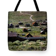 Bodie Ghost Town Panorama Tote Bag