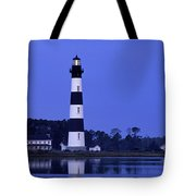 Bodie Island Lighthouse At Dusk - Fs000607 Tote Bag