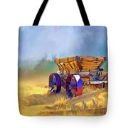 Bodie Ore Wagon Painted Tote Bag
