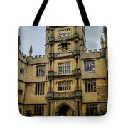 Bodleian Library Main Gate Tote Bag
