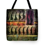 Body In Motion Tote Bag by Delight Worthyn