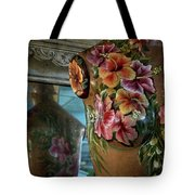 Body Paint Tote Bag