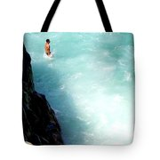 Body Plunge Tote Bag