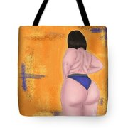 #bodypositive Tote Bag