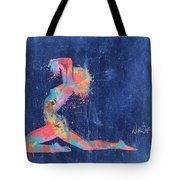 Bodyscape In D Minor - Music Of The Body Tote Bag