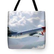 Boeing 737 Norwegian Air Tote Bag