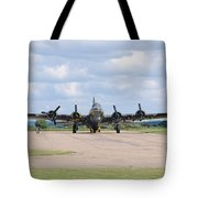 Boeing B-17 Flying Fortress Sally B Tote Bag