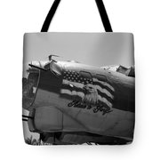 Boeing B-17g Flying Fortress Nose Art Tote Bag