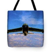 Boeing B-52 Stratofortress Oil Tote Bag