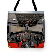 Boeing C-135 Cockpit Tote Bag