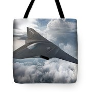 Boeing Next Gen Fighter Concept Tote Bag