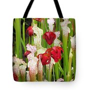 Bog In Bloom Tote Bag