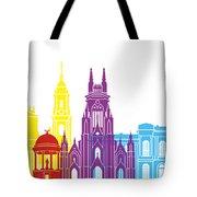 Bogota Skyline Pop Tote Bag