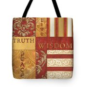 Bohemian Red Spice 2 Tote Bag