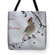 Bohemian Seasons Greetings Tote Bag