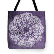 Boho Floral Mandala 2- Art By Linda Woods Tote Bag