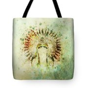 Boho Headdress Tote Bag