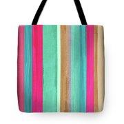 Boho Stripe- Art By Linda Woods Tote Bag