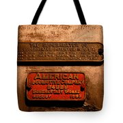 Boilerplates Tote Bag
